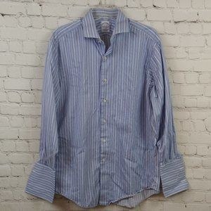 Brooks Brothers Men Striped Button Up Shirt